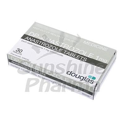 Anastrazole (Anastrozole) - 1mg (30 Tablets)