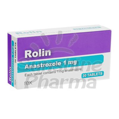 Rolin (Anastrozole) - 1mg (30 Tablets)