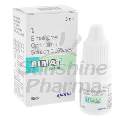 Bimat Eye Drops (Bimatoprost 0.3%) - 3mL