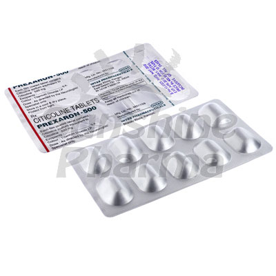 Prexaron-500 (Citicoline) - 500mg (10 Tablets)