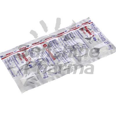 Mignar-25 (Miglitol) - 25mg (15 Tablets)
