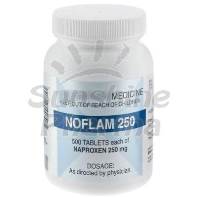 Noflam (Naproxen) - 250mg (500 Tablets)