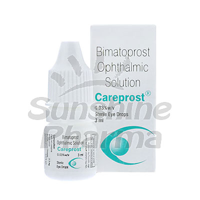 Careprost (Bimatoprost Ophthalmic) - 0.03% (3ml)