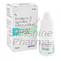 Bimat Eye Drops (Bimatoprost 0.03%) - 3mL